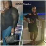 Tyrra lost 44 pounds
